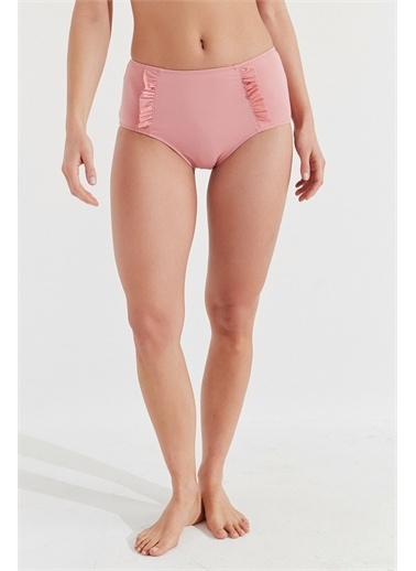 Penti Mistik Gül Basic Yüksek Bel Bikini Altı Pembe